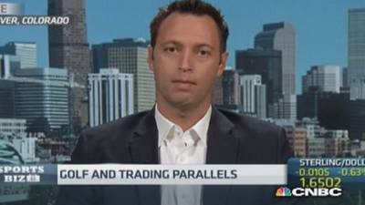 News video: Why golf and trading are similar...