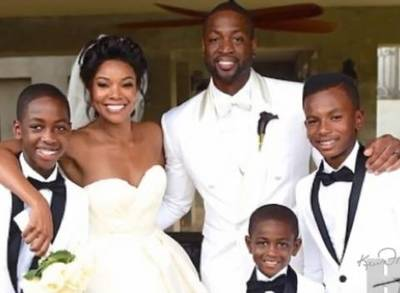 News video: Gabrielle Union and Dwyane Wade Share Wedding Photos