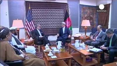 News video: Afghanistan political crisis casts shadow over NATO summit